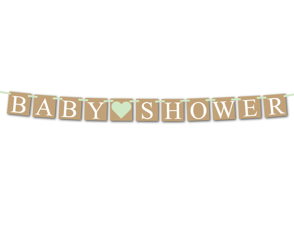Baby Shower Banner Rustic Baby Shower 1526718 Png Images Pngio