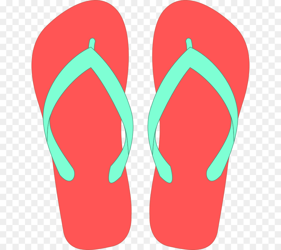 Cartoon Flip Flops Png - Background Green png download - 700*800 - Free Transparent ...