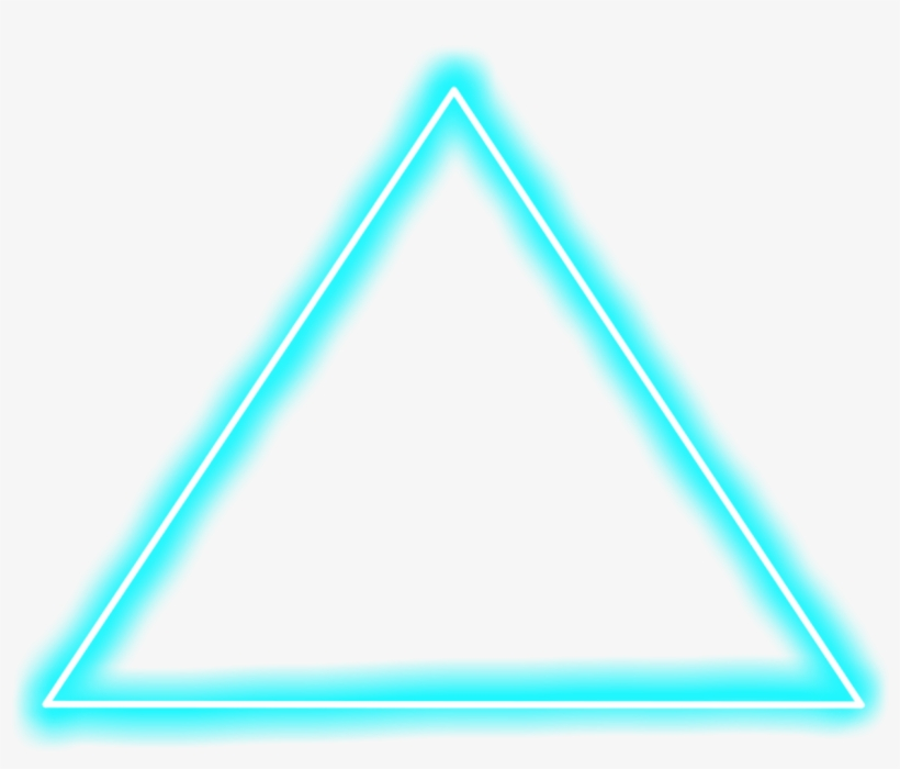 Background, Light Png, Neon - Triangle - #581878 - PNG