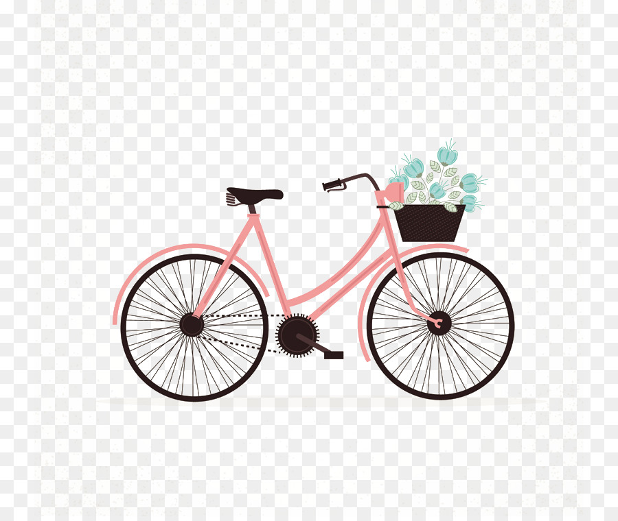 Pink Bicycle Png - Background Pink Frame png download - 800*753 - Free Transparent ...