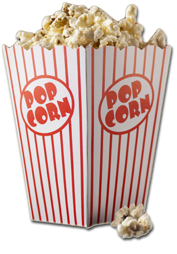 Popcorn No Background - Background Transparent Popcorn #9447 - Free Icons and PNG Backgrounds