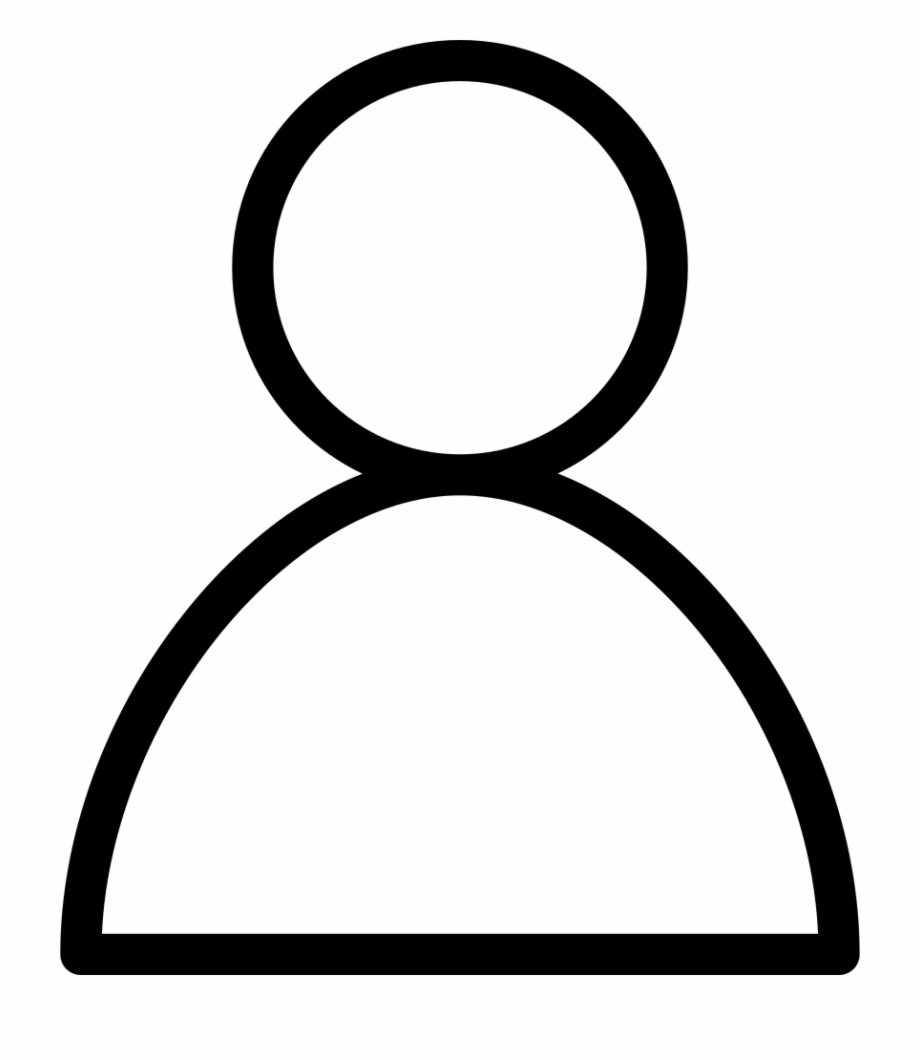 Head Outline Png - Baidu Person Outline Comments - Human Head Icon Png Free PNG ...