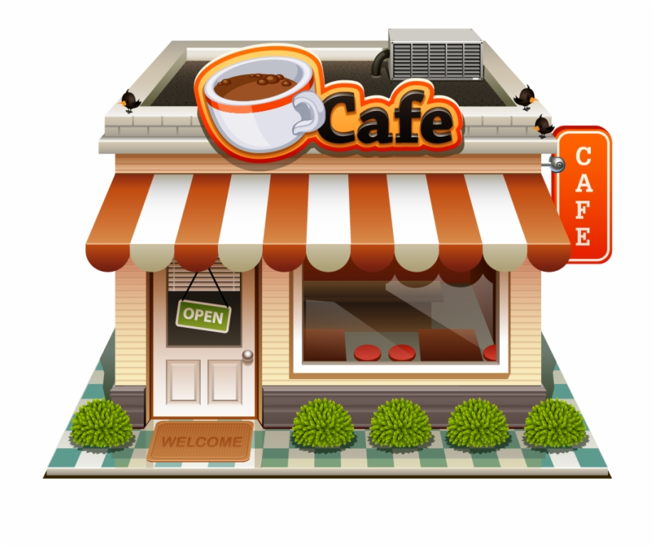 Bakery Shop Png - Bakery Building Png - Coffee Shop Clipart Png | Transparent PNG ...