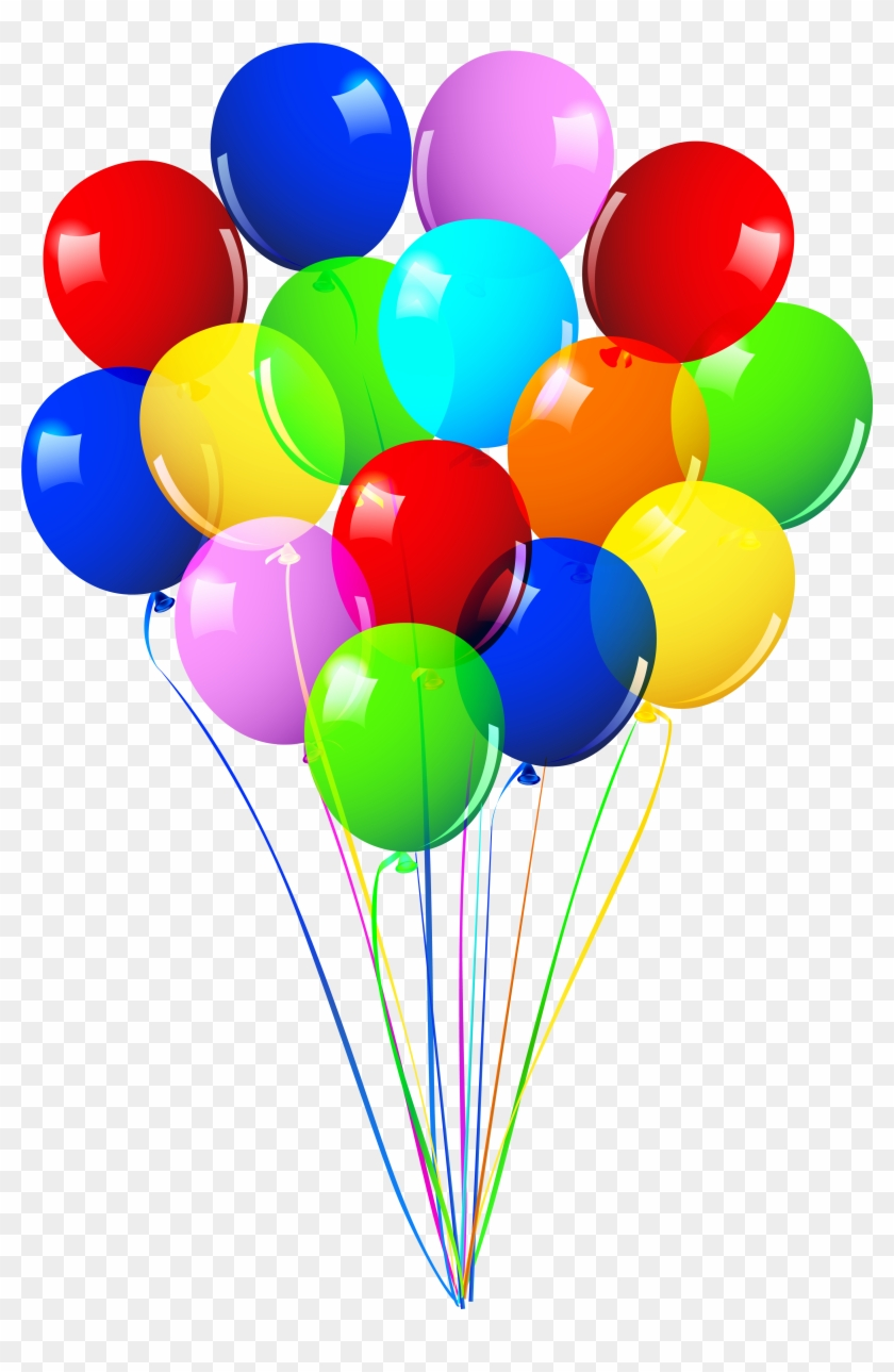 Happy Birthday Ballons Png - Ballons Clipart Balloon Bunch - Happy Birthday Balloons Png ...