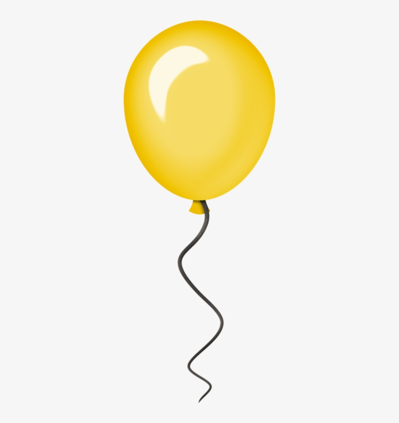 Balloons yellow. Png free transparent images