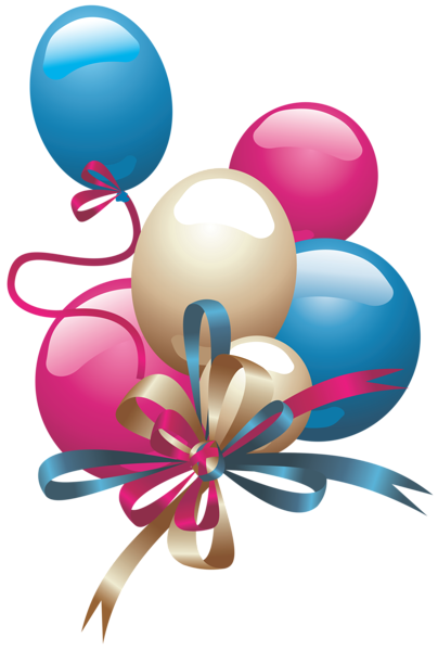Happy Birthday Balloons Png - Balloons PNG Clipart
