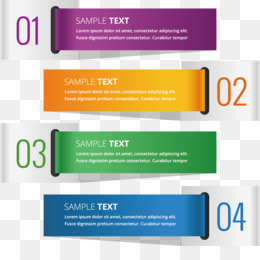 Colorful Banner Template Png - Banner Template PNG - Colorful Banner Template, Blank Banner ...