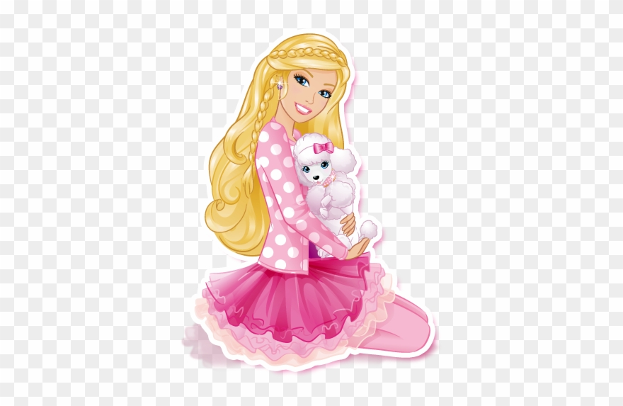 Barbie Clipart - Barbie Clipart Happy Birthday Free For Download On - Png Download ...