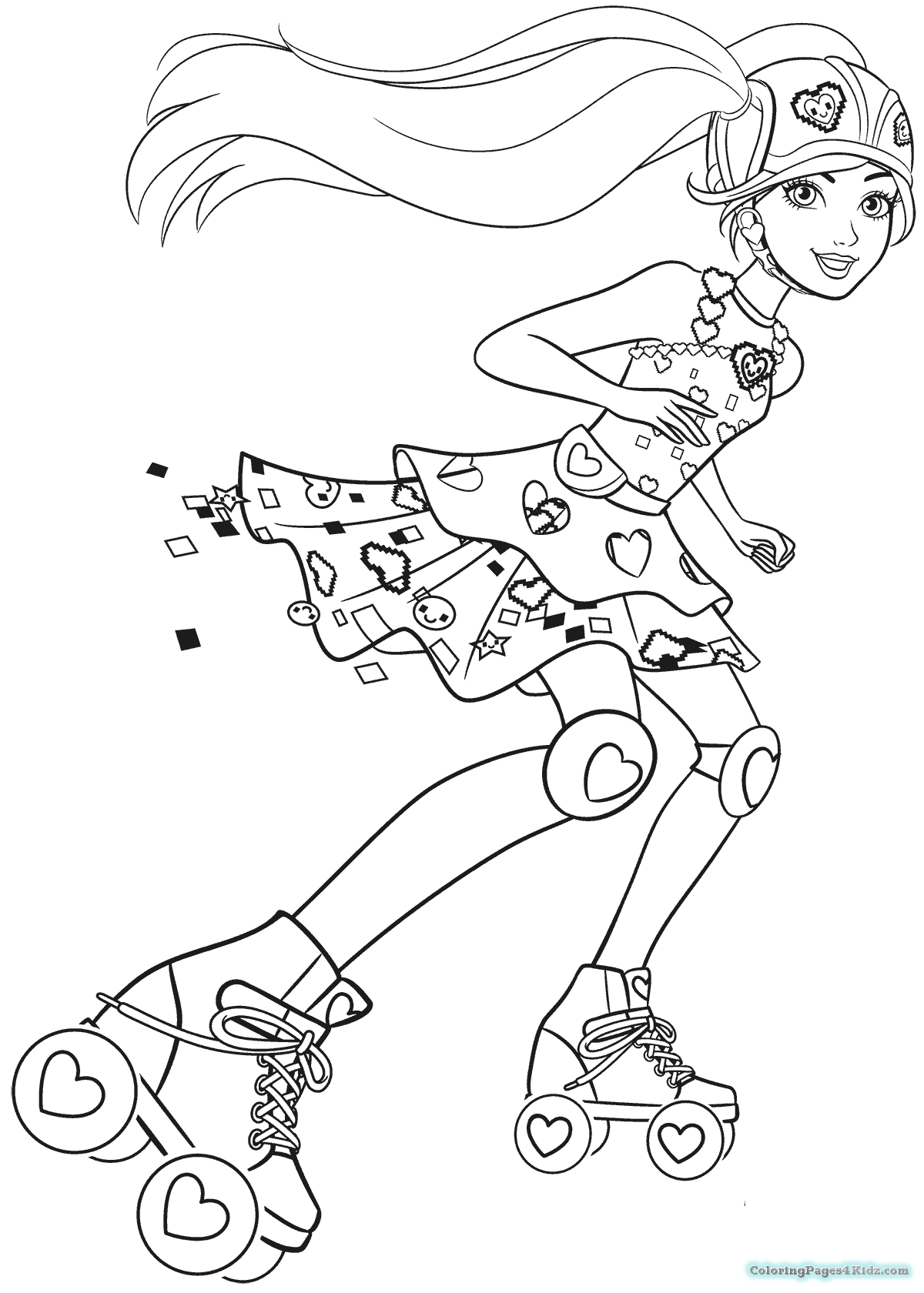 Video Game Coloring Sheets