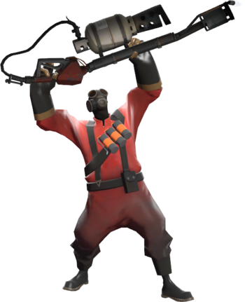 Tf Pyro Png - Basic Pyro strategy - Official TF2 Wiki | Official Team Fortress Wiki