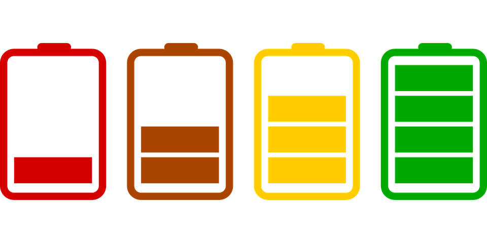 Battery Png - batteries loading icons set flat charged battery