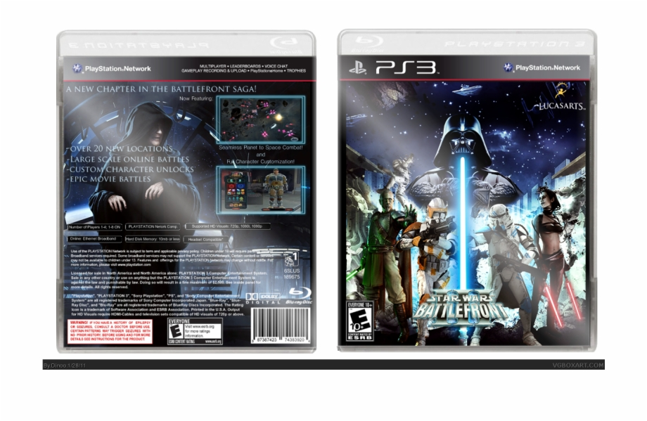Star Wars Tablet Png - Battlefront Iii Box Cover - Star Wars Battlefront Ps3 - star wars ...