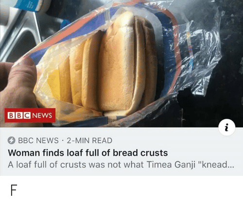 Woman Kneading Bread Png - BBCNEWS 4 BBC NEWS 2-Min READ Woman Finds Loaf Full of Bread ...