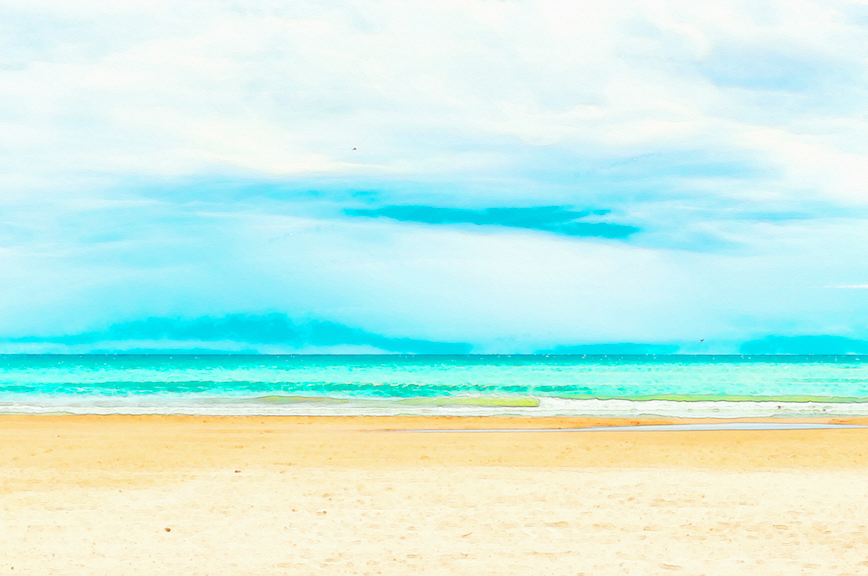Watercolor Beach Backgrounds Png Free