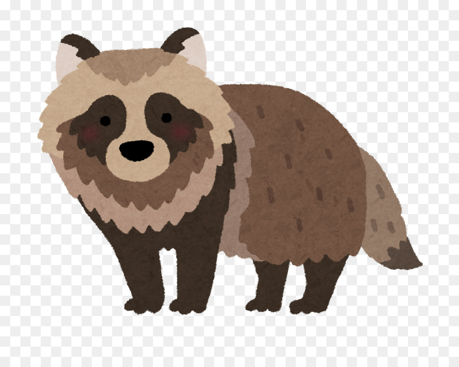 Japanese Raccoon Dog Png - Bear Cartoon png download - 800*703 - Free Transparent Japanese ...