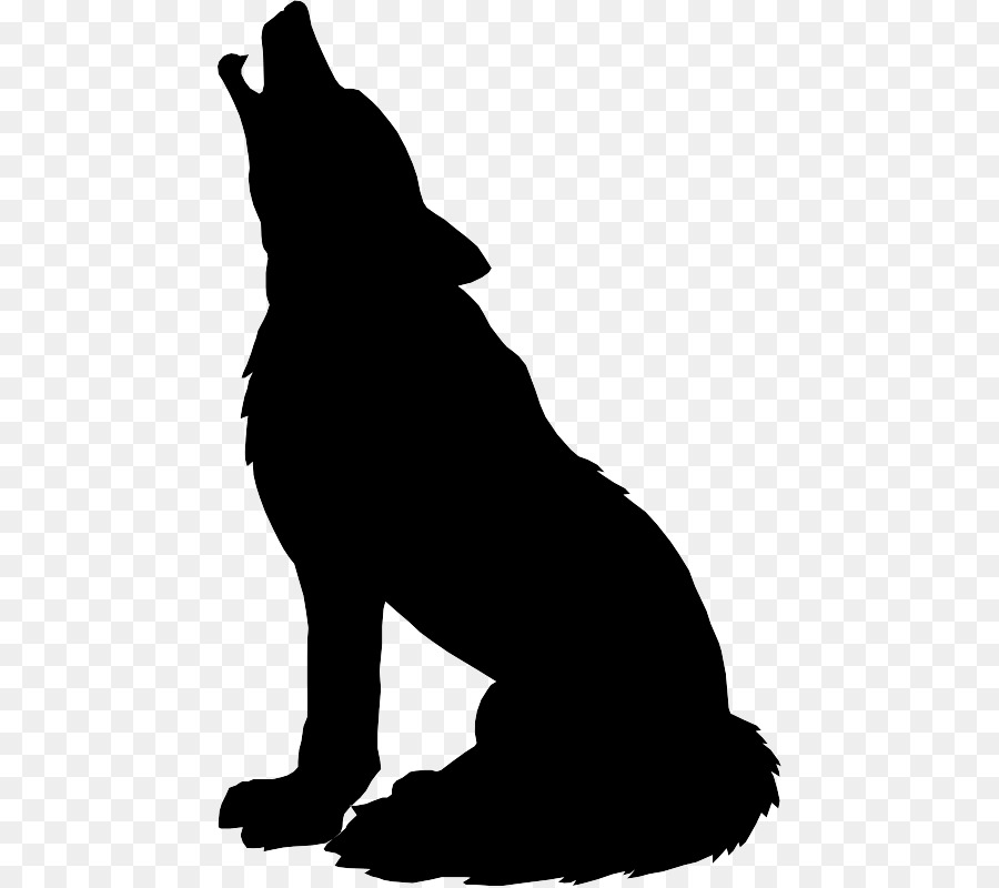 Wolf Head Silhouette Png - Bear Cartoon
