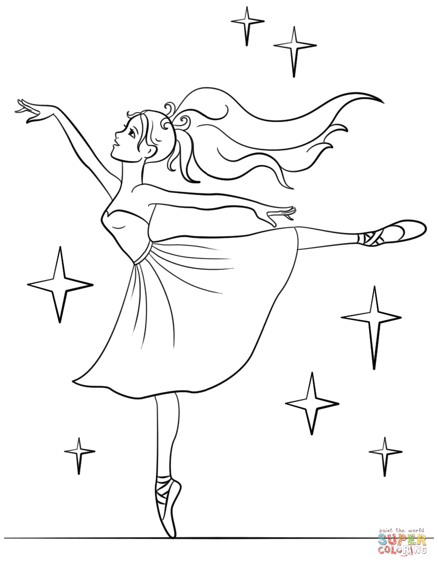 Ballet Coloring Pages | 1118x864
