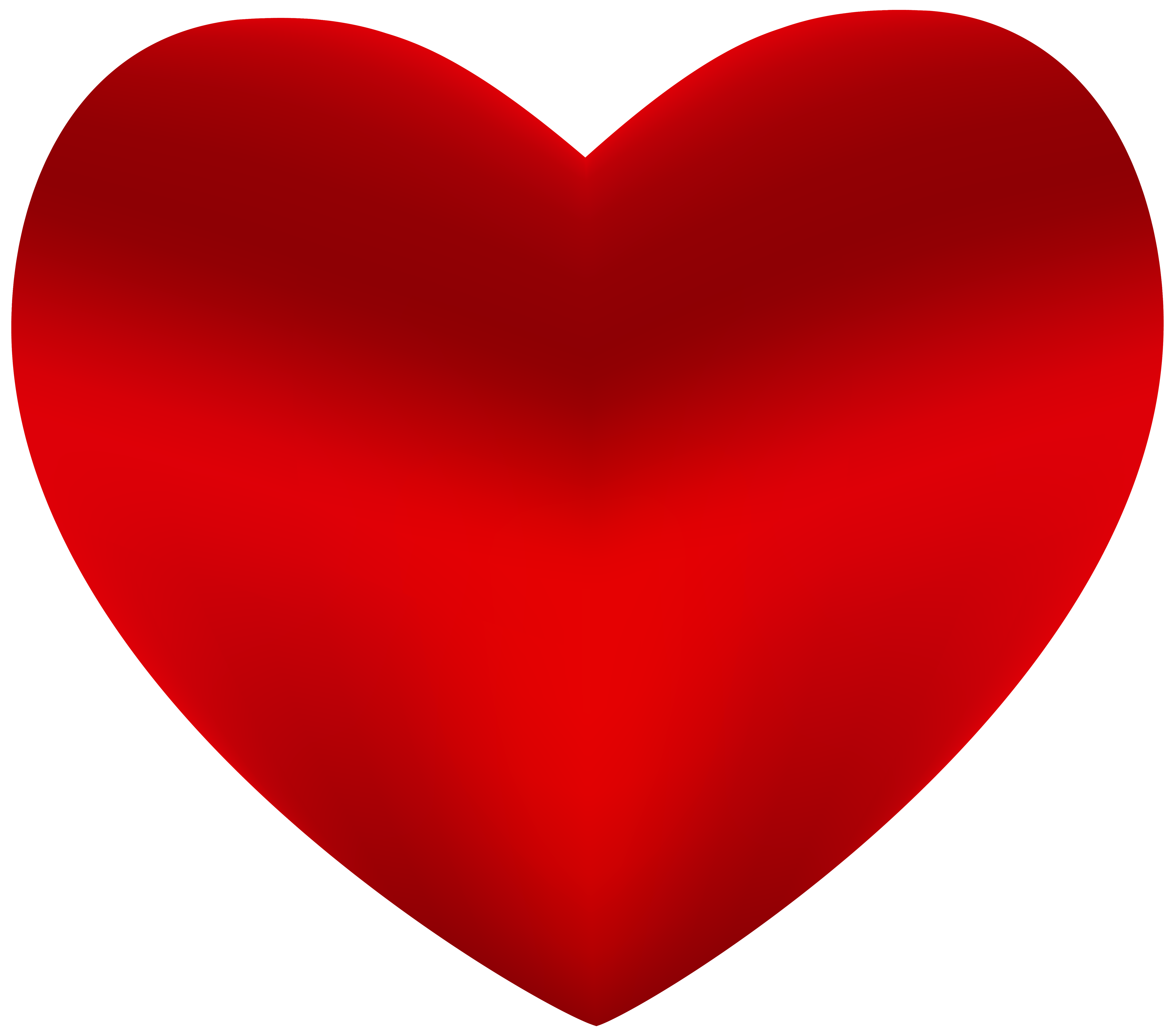 Heart Png - Beautiful Red Heart PNG Clipart