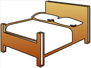 Getting Into Bed Png - bed clipart