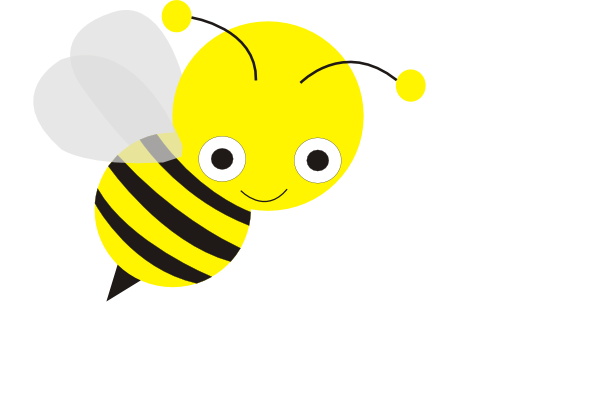 Girl Bee Png - Bee Clip Art at PNGio - vector clip art online, royalty free ...