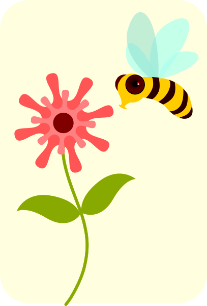 Flower And Bee Png - bee flower icon - /animals/bugs/bee/bumble_bee/bumble_bee_2/bee_flower_icon. png.html