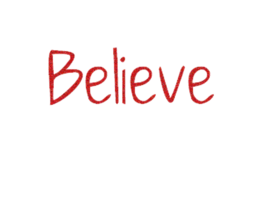 Believe Png - Believe text png by editorforinfinity on DeviantArt