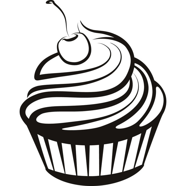 Cupcake Drawing Transparent Images 5772