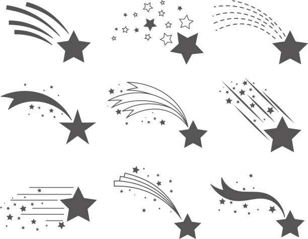 Shooting Star Graphic - Best Shooting Star Illustrations, Royalty-Free Vector Graphics ...