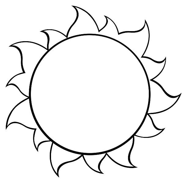 Sun Clipart Black And White Free Sun Clipart Black And White Png