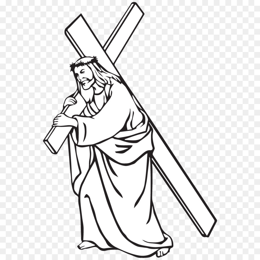 Png Of Jesus Carrying His Cross & Free Of Jesus Carrying ...