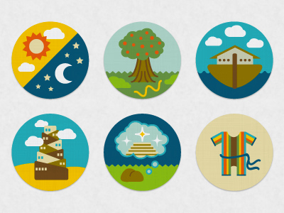 Genesis Bible Png - Bible Story Icons: Genesis Series by Liza Unson on Dribbble