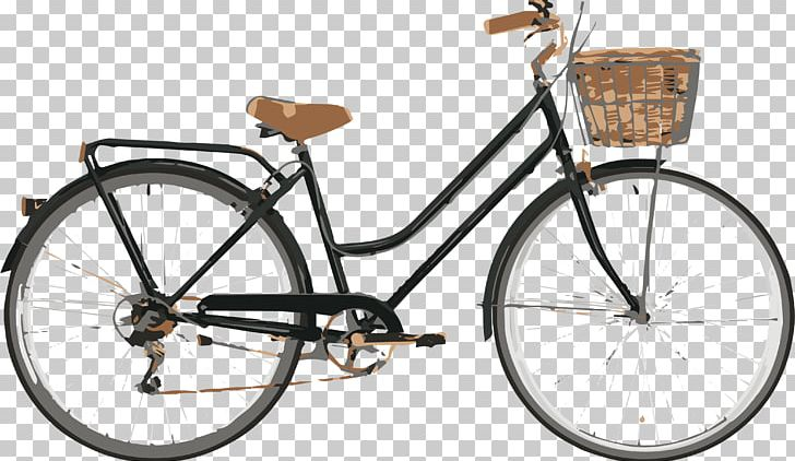 Old Bicycle Png - Bicycle Cycling Retro Style Reid Cycles Mountain Bike PNG, Clipart ...