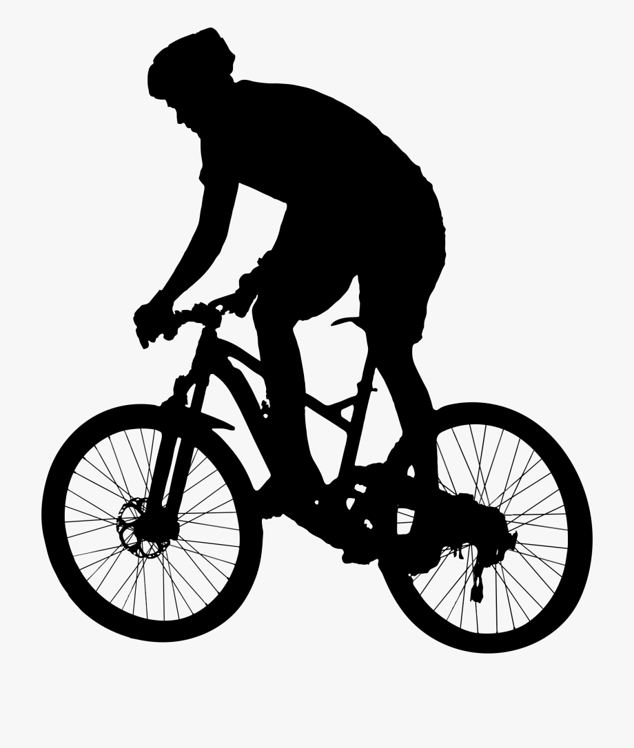 Bicycle Race Clipart Mountain Bike Vec 1067420 Png Images Pngio