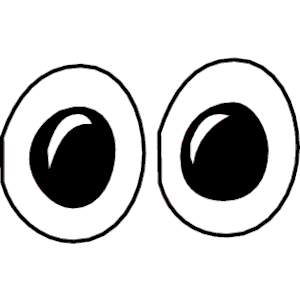Big Cartoon Eyes Clipart Eyes Collection 295976 Png Images Pngio