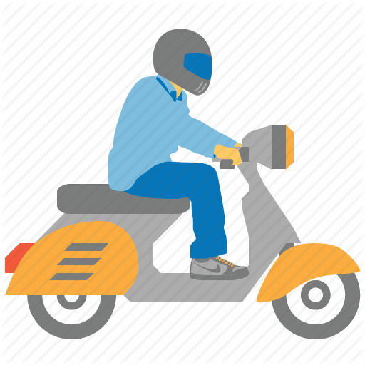 Png Delivery Man On Bike - Bike, courier, delivery, motorbike, motorcycle, shipping ...