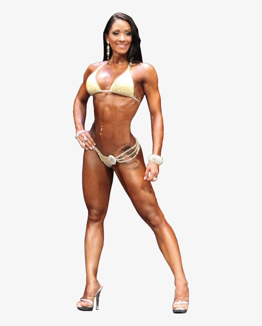 Female Bodybuilding Png - Bikini, Figure, Physique & Fitness - Linda Murray Female ...