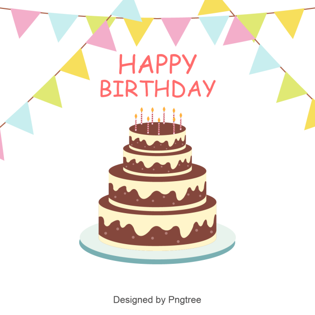 Messed Up Cake Vector Png - Birthday Cake Vector Background, Elegant Ornamental Collection ...