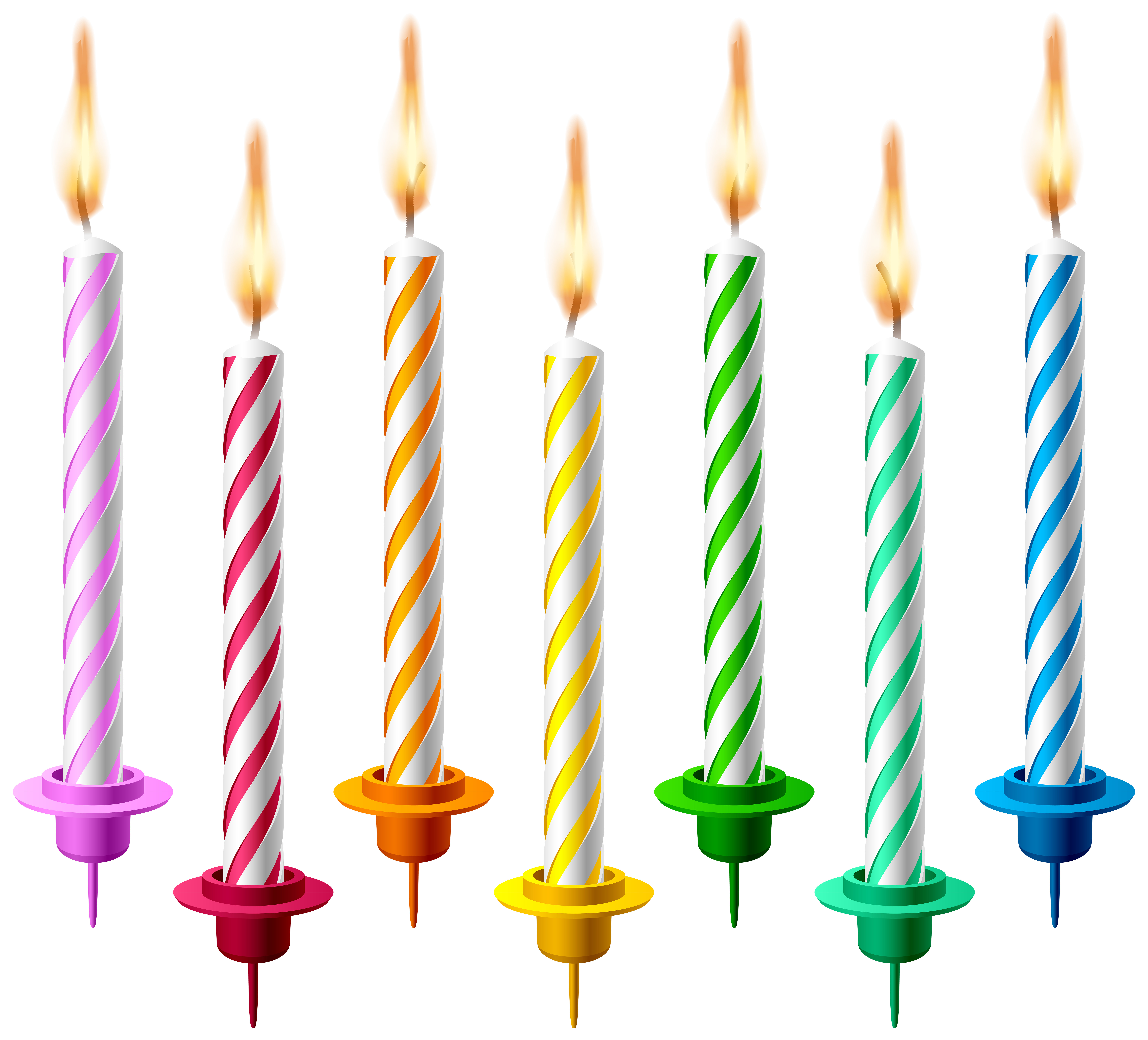 Free Png Candle - Birthday Candles PNG Transparent Clip Art Image   Gallery ...