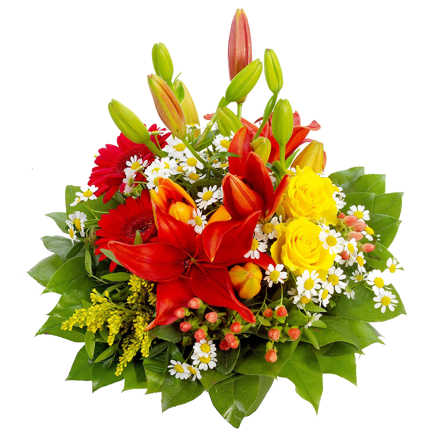 Flowers Png - Birthday Flowers Bouquet PNG Image