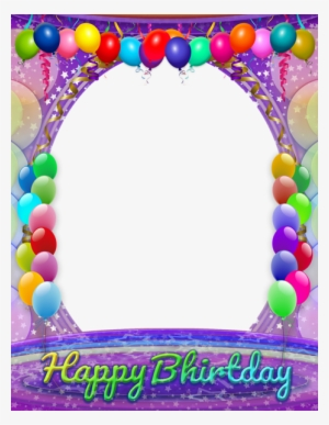 August Birthday Borders Png - Birthday Frame PNG, Transparent Birthday Frame PNG Image Free ...
