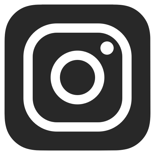 Rectangle Png Black And White - Black and white, dark grey, instagram icon