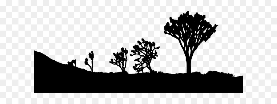 Landscape Drawing Png - Black And White Flower clipart - Landscape, Silhouette, Drawing ...