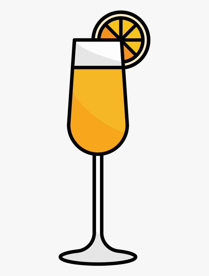Brunch Mimosa Png - Black And White Library Https Ws San Francisco California - Brunch ...