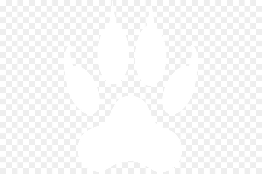 Bobcat Png Black And White - Black and white Line Angle Point Pattern - Bobcat Paw Print ...