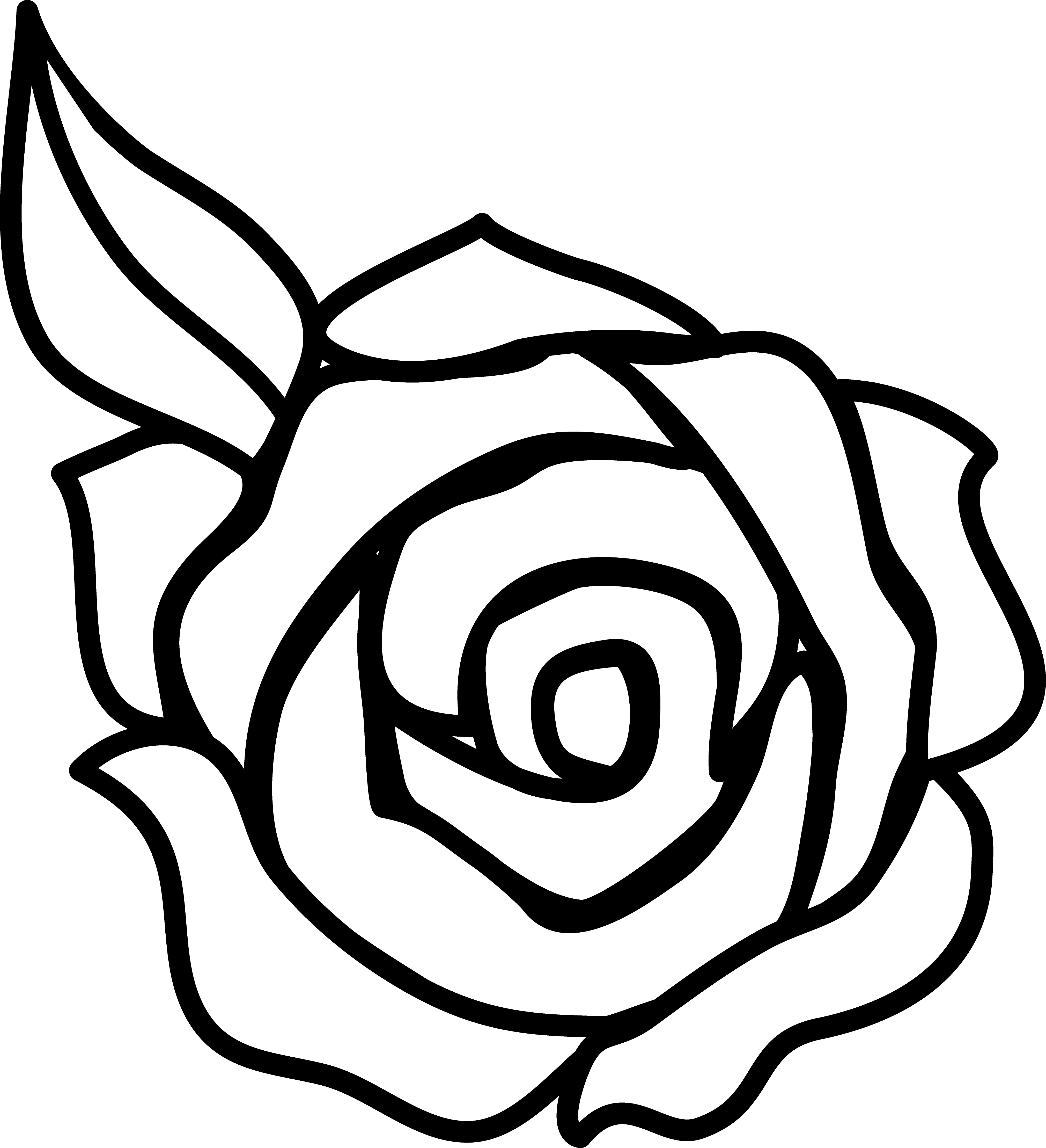 Free Borders Flowers Rose Clip Art with No Background , Page 2 - ClipartKey