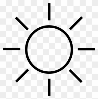 Black And White Sun Clip Art For Sunli 463490 Png Images Pngio
