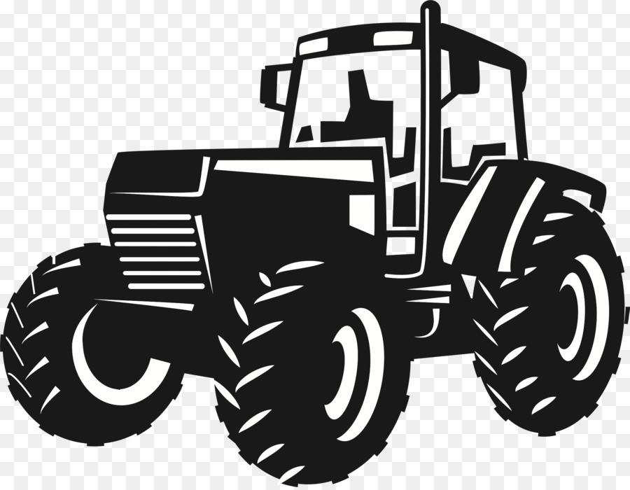Tractor Drawing Png - Black and white Tractor Drawing Clip art - tractor png download ...