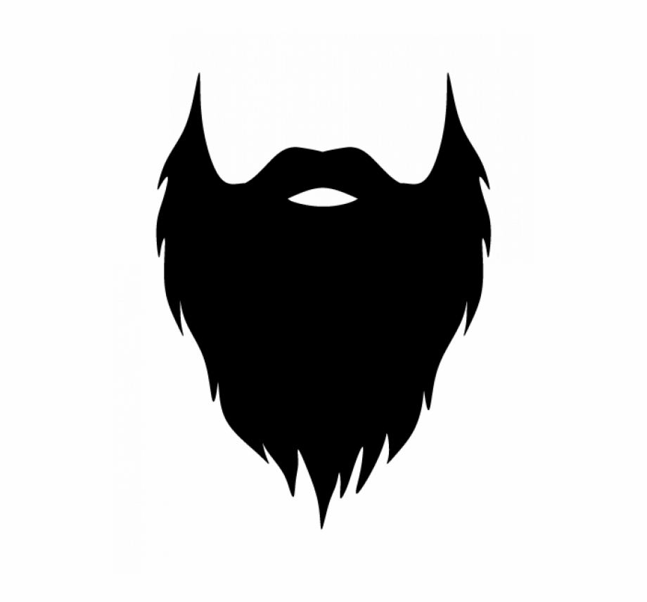 Beard real. Black png transparent images
