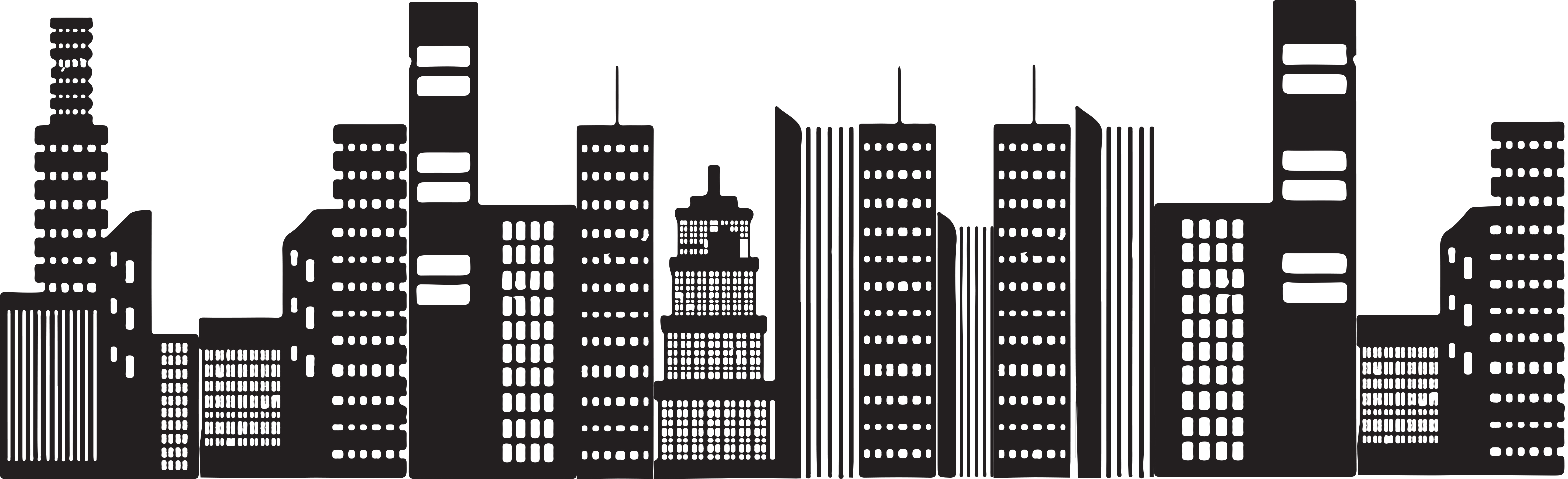 Building Png Black And White Free & Free Building Black ...
