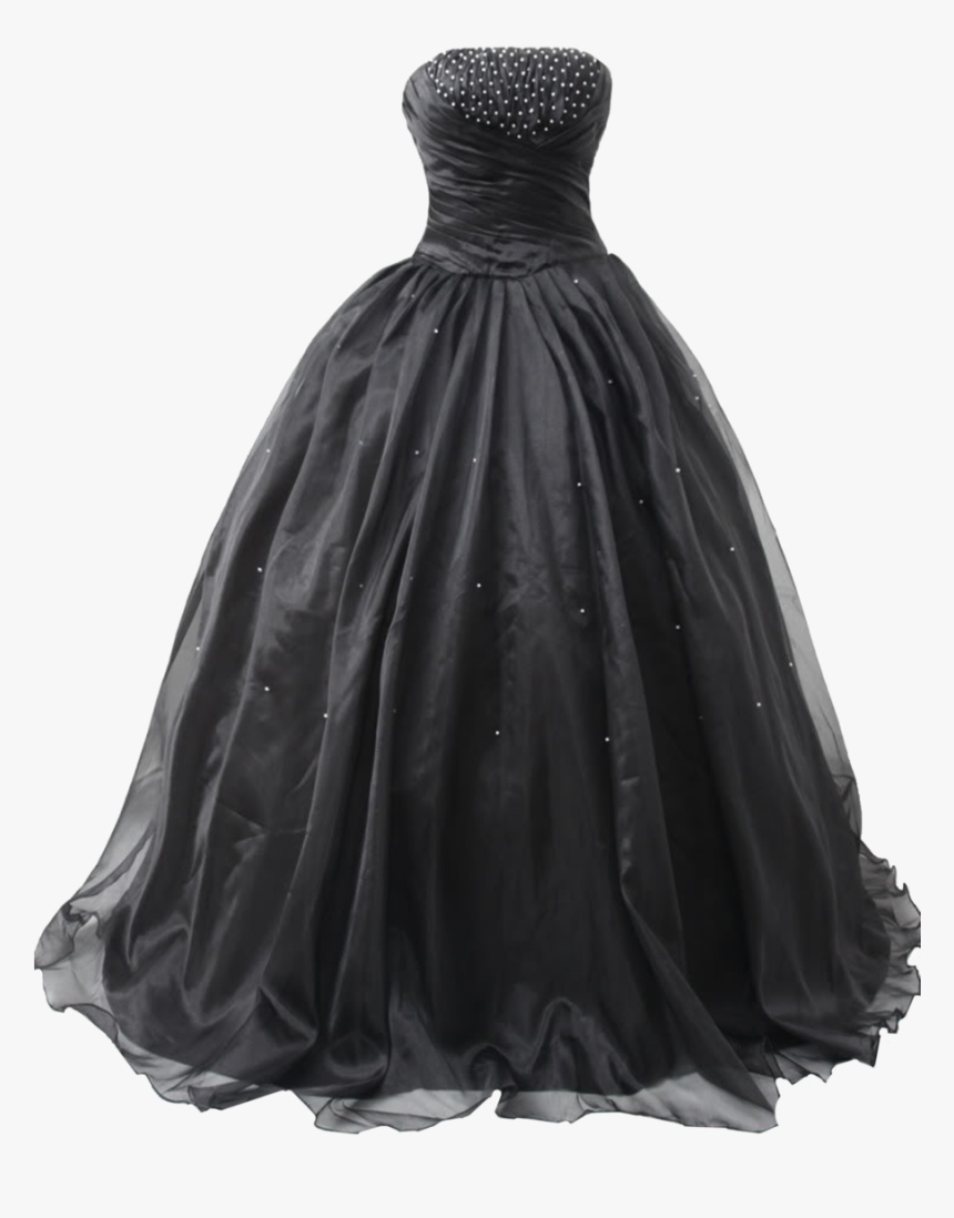 Ball Dress Png - Black Dress Png Image Background - Masquerade Ball Black Ball Gown ...